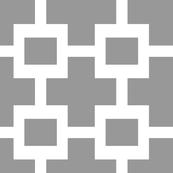 Squared Plus in Cashmere and White