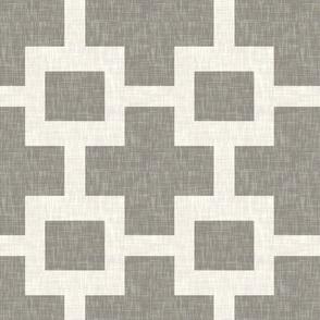 Squared Plus in Cashmere Linen