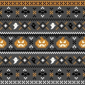 Halloween Fair Isle