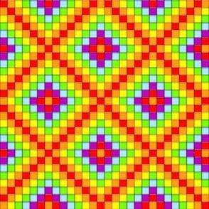 Mosaic - Rainbow Cubes 2