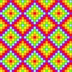 Mosaic - Rainbow Cubes 3