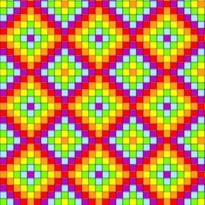 Mosaic - Rainbow Cubes 4