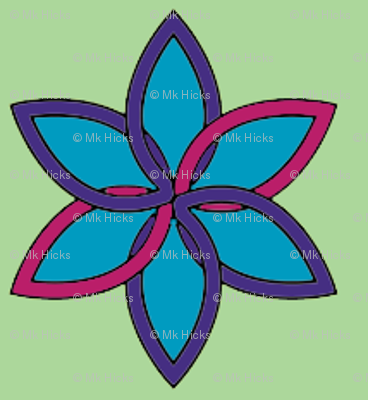 Rpurplepink_flower_design_preview
