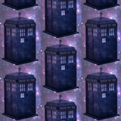 Dr Who Tardis Galaxy