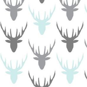 deers grey blue