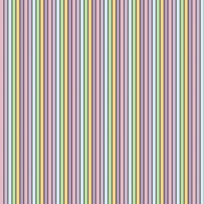 Pastel Vertical Stripes