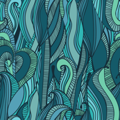 Abstract Ocean Waves