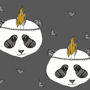 panda grey - elvelyckan