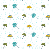 Raining Umbrellas Today!