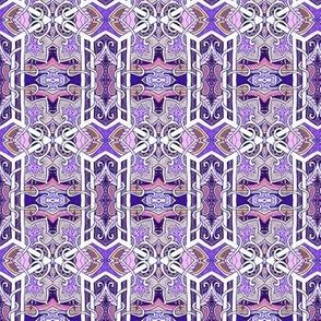 Gothic Geometric (purple)