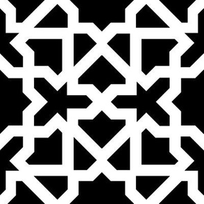 Marrakesch xxl black-white