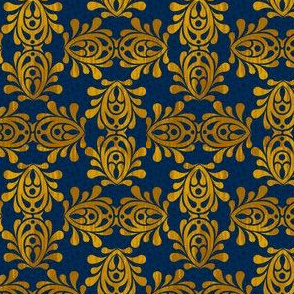 GOLDEN_LAPIS-DAMASK
