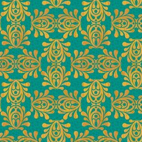 GOLDEN_TEAL-DAMASK