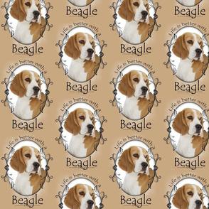 Life's Better Beagle