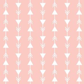 pink climbing arrows