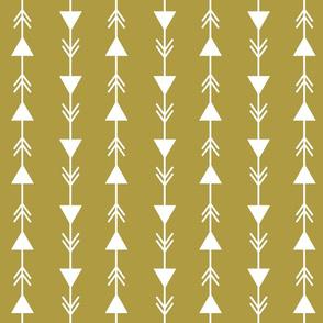 mustard climbing arrows