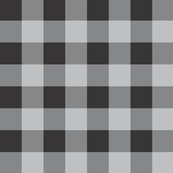black buffalo plaid
