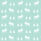 moose trot // aqua