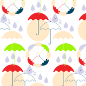 Umbrella & Rain drop