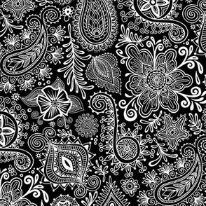 Cosmic Henna_Black