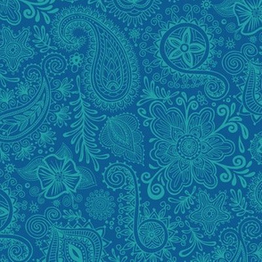 Cosmic Henna_Blue