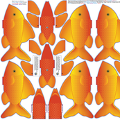 FINGER_POCKET_FISH_1_Gold_Cut_n_Sew