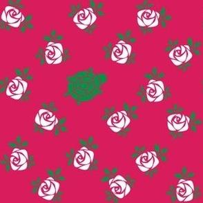 Delta Zeta Rose Turtle