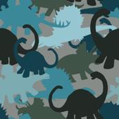 Tiny Dinosaur Camouflage Design