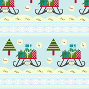 Victorian Sleigh Ride- small print - horizontal