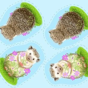 Hedgehog Plush Pillow