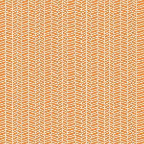 herringbone orange