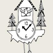 Cuckoo Clock by Sara Burkhard