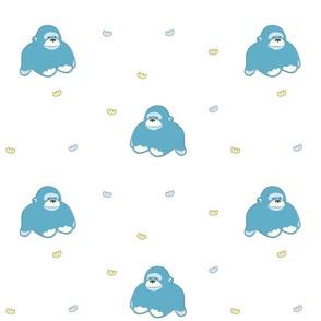 Baby Gorilla Blue