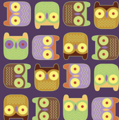 Halloween Block Owls