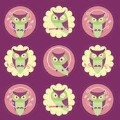 Owl Doilies