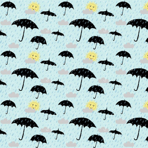 A sun shower for Spoonflower!