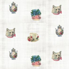 Kitty's Tea Party