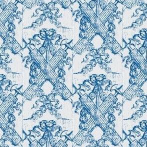 Blue Boiserie