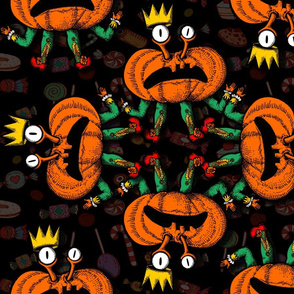 Dance Halloween Pumpkins