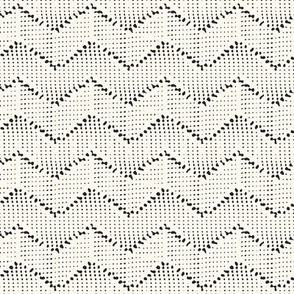 flecked chevron
