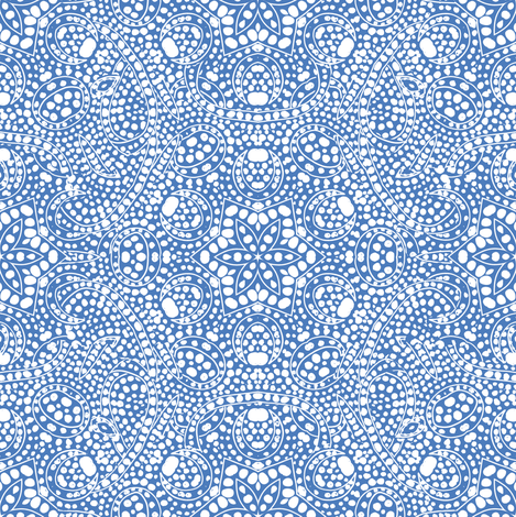 Blue Starry Lace