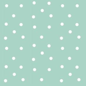 Polka Dots- blue/white