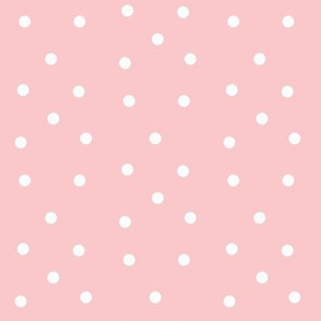 Polka Dots- pink/white