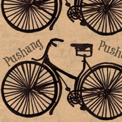 Guernsey pushang vintage bicycle
