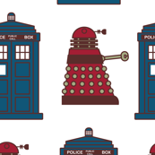 Tardis and Dalek