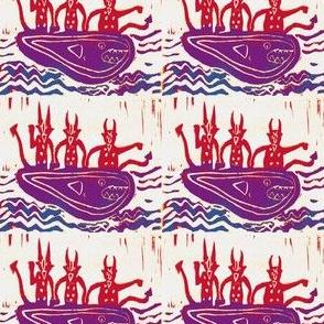 Devils in the Same Boat #2