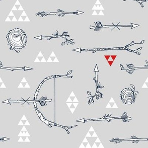 Forest Arrows (Grey)