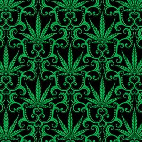 Hemp Damask 1- small