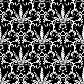 Hemp Damask 4- medium