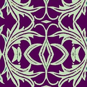 Rococo in plum